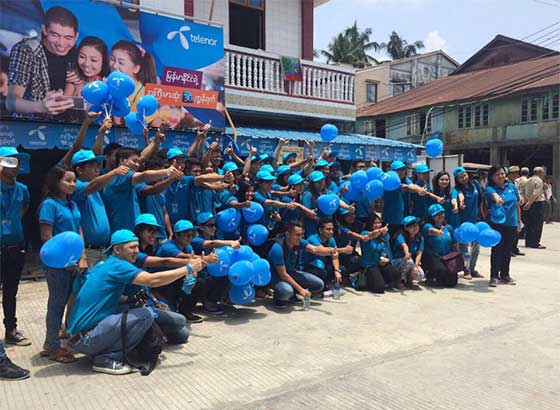 Telenor Blue Wave Program (Yakhine)